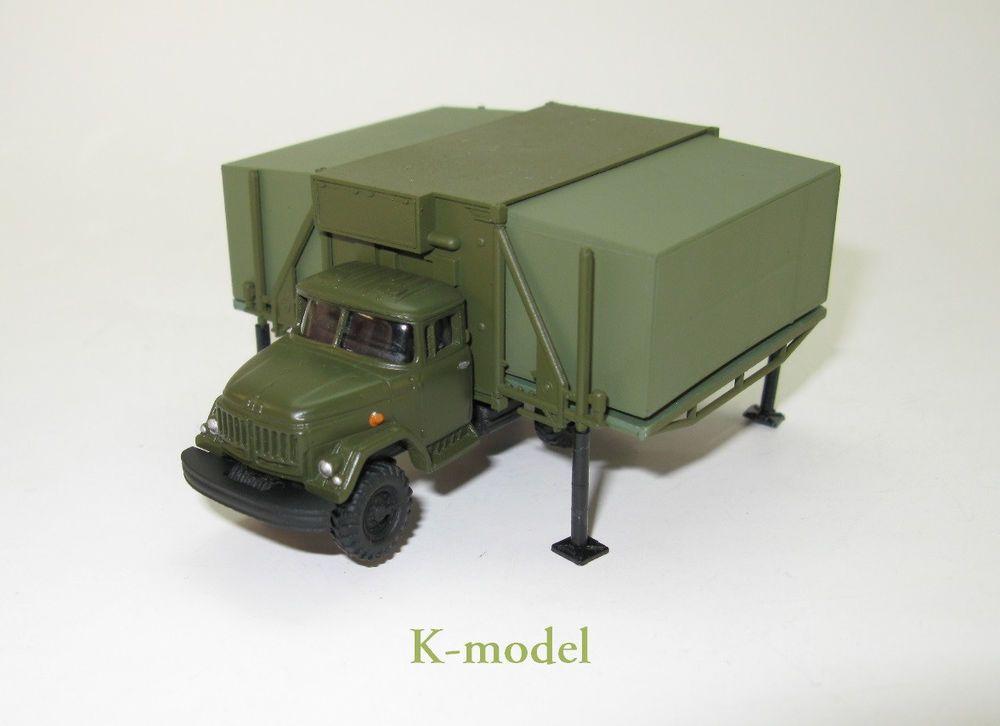 ZIL-131 mit Faltkoffer FK1 Medizinische Einrichtung DDR UdSSR - 1:87 HO