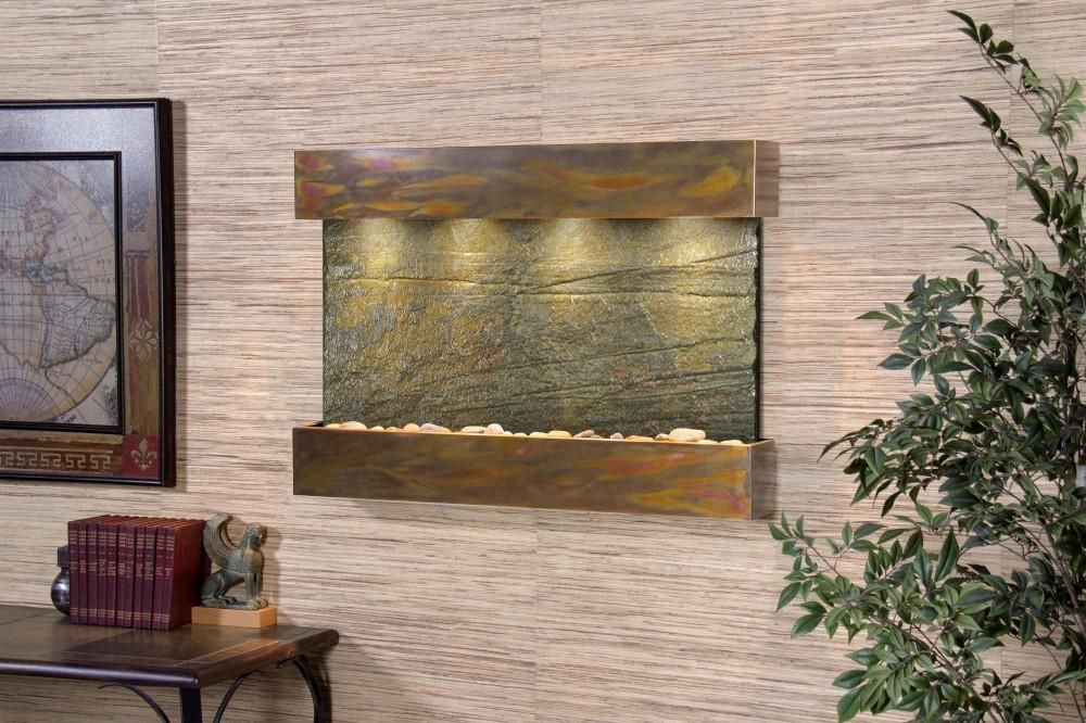 Adagio Reflection Creek Wall Fountain Indoor Wall Fountains Water Walls Water Features