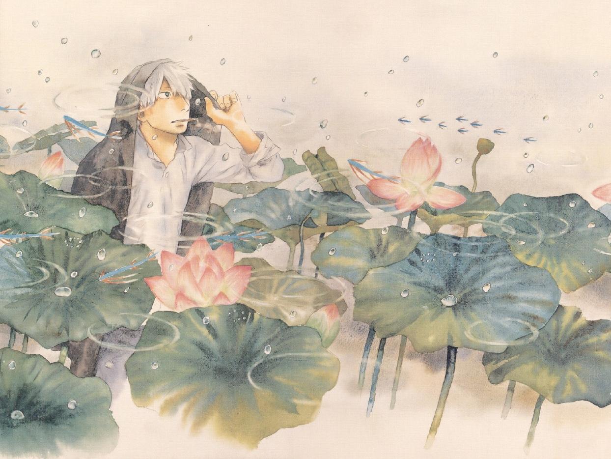 mushishi ginko(画像あり) アニメイラスト, アートのアイデア