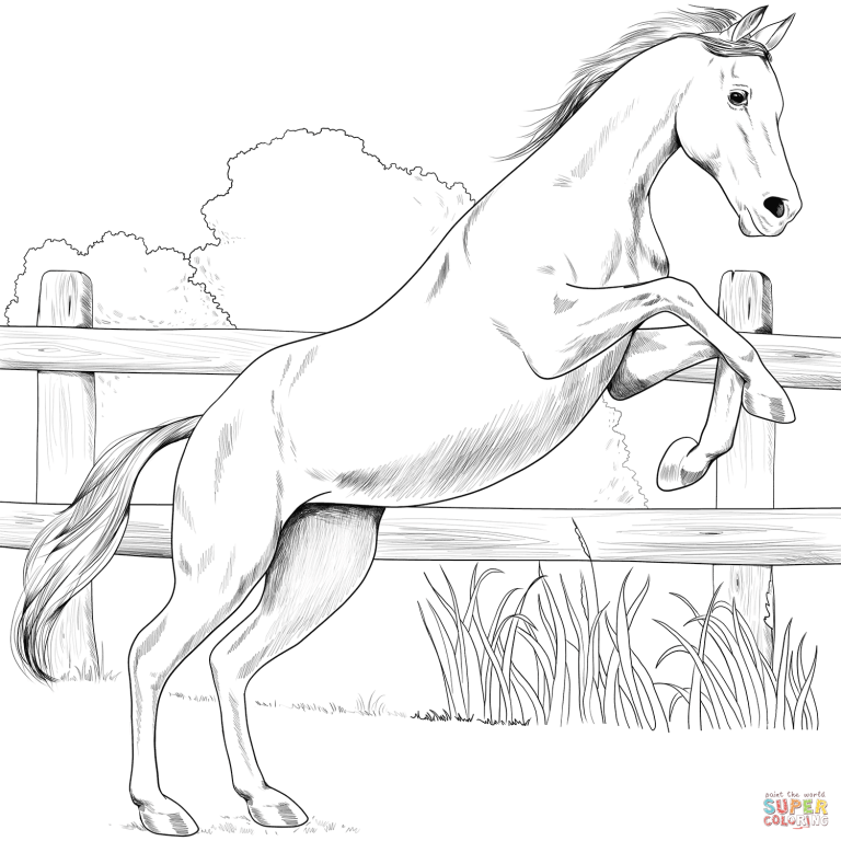 Free Printable Coloring Pages Intended For Egyptian Arabian Coloring Pages Free Download Horse Coloring Pages Horse Coloring Coloring Pages