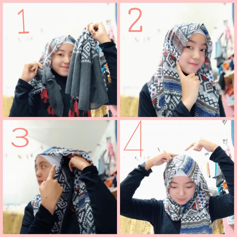 Tutorial Hijab Nissa Sabyan Pashmina Di 2020 Kecantikan