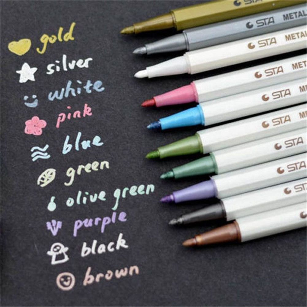 1 0 Aud Lot Waterproof Permanent Paintmarker Pen Car Tyre Tire
