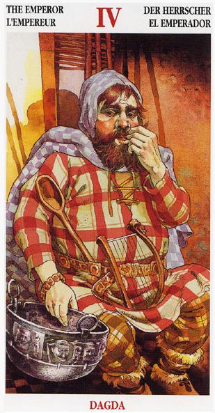 The Emperor - Celtic Tarot