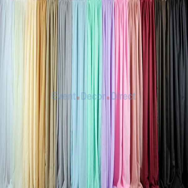 *FR* Sheer Voile Fabric By The Bolt-10FT x 164FT - Event Decor Direct - North America's Premier