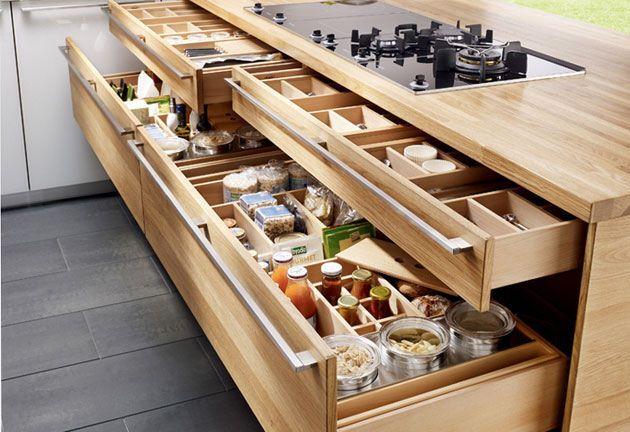 Küchenblock freistehend ~ Moderne küchen küchenblock freistehend schubladen küche