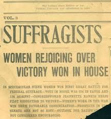 artifacts the fight for women s rights close chicago  womens suffrage movement link on the historical society page