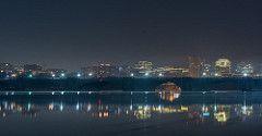 Rosslyn NightView (Dimitris Manis) Tags: bridge night lights washingtondc memorial nightview rosslyn