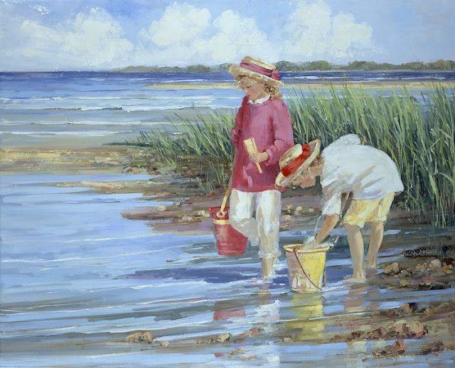 Il Mondo Di Mary Antony I Bambini Sulla Spiaggia Di Sally Swatland
