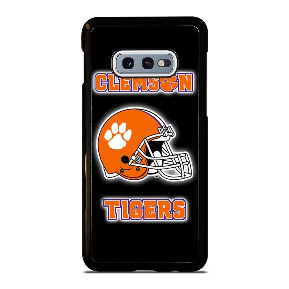 Clemson tigers football samsung galaxy s10e case cover in