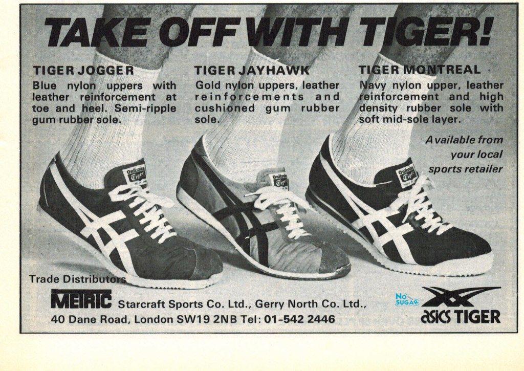 Vintage Brooks Running Shoe Advertising