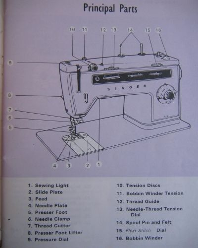 singer 514 sewing machine instruction manual craft ideas rh pinterest com Singer Sewing Machine Operating Manuals Singer Toy Sewing Machine Manual