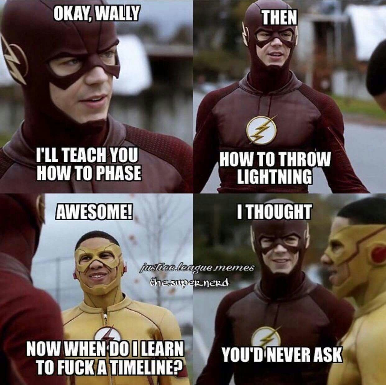 Funny Meme For Facebook Timeline : The flash funny meme please teach me how to f k