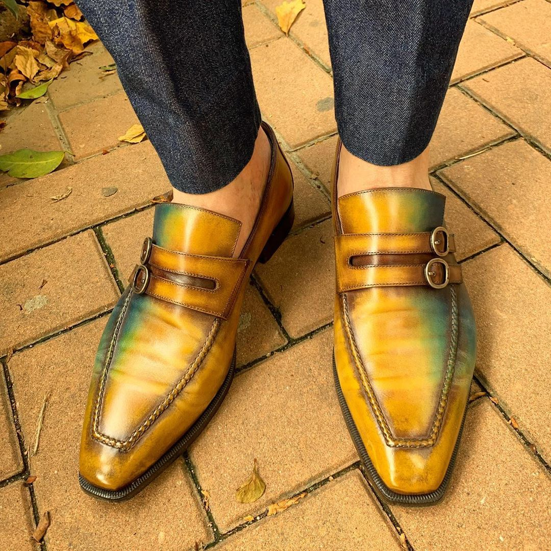 32 Likes 1 Comments Sole Preacher Sole Preacher On Instagram Some Autumn Colors For A Hot Summer Day I Feel Cooler Dress Shoes Men Shoes Hot Summer [ 1081 x 1080 Pixel ]