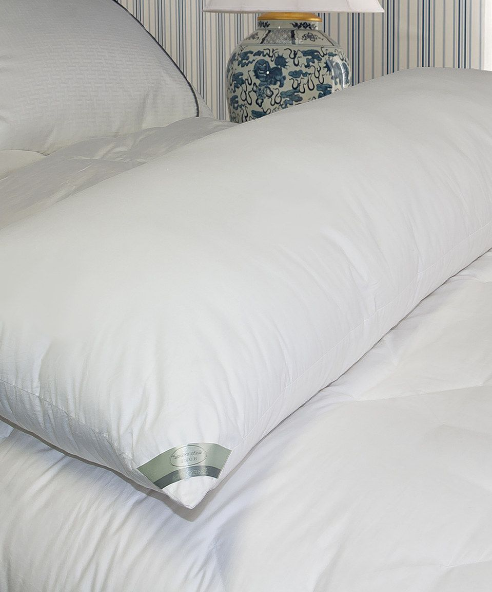 Kathy Ireland Down Alternative Body Pillow By Hotel Grand