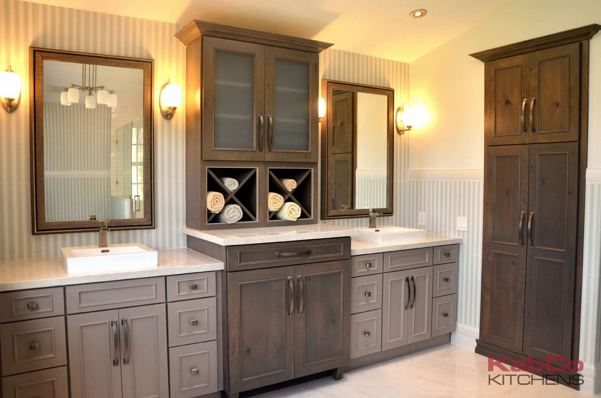 Bathroom Cabinets Kabco Kitchens Cabinets Cabinet Showplace Bathroom Cabinetry Driftwood Ki In 2020 Bathroom Cabinetry Bathroom Style House Interior Design Bedroom