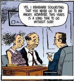 Marriage Jokes A Person Receives Telegram