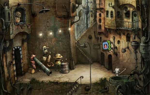 Machinarium Amanita Design In 2020 Amanita Design Steampunk Art Steampunk Games