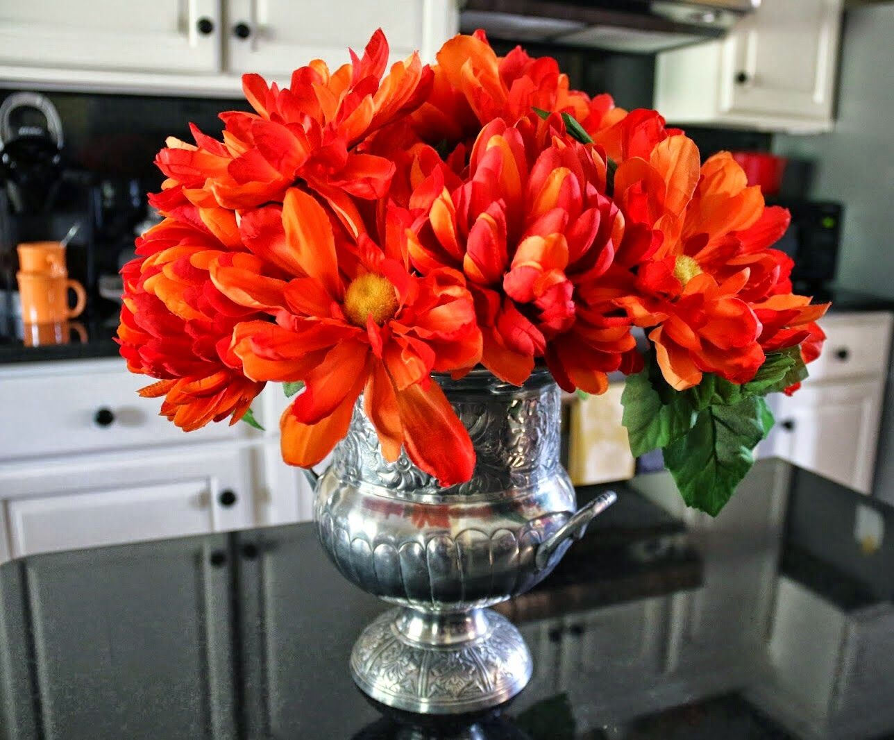 Go Bold...Bright Orange Arrangement