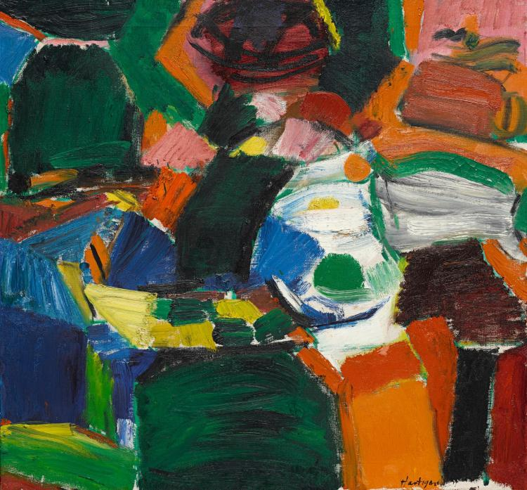 GRACE HARTIGAN | Orchard Street #2 | Pinturas, Arte pintura