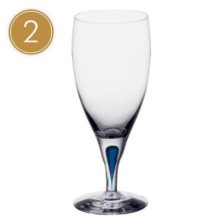 Orrefors Intermezzo Set of 2 Ice Water Glass