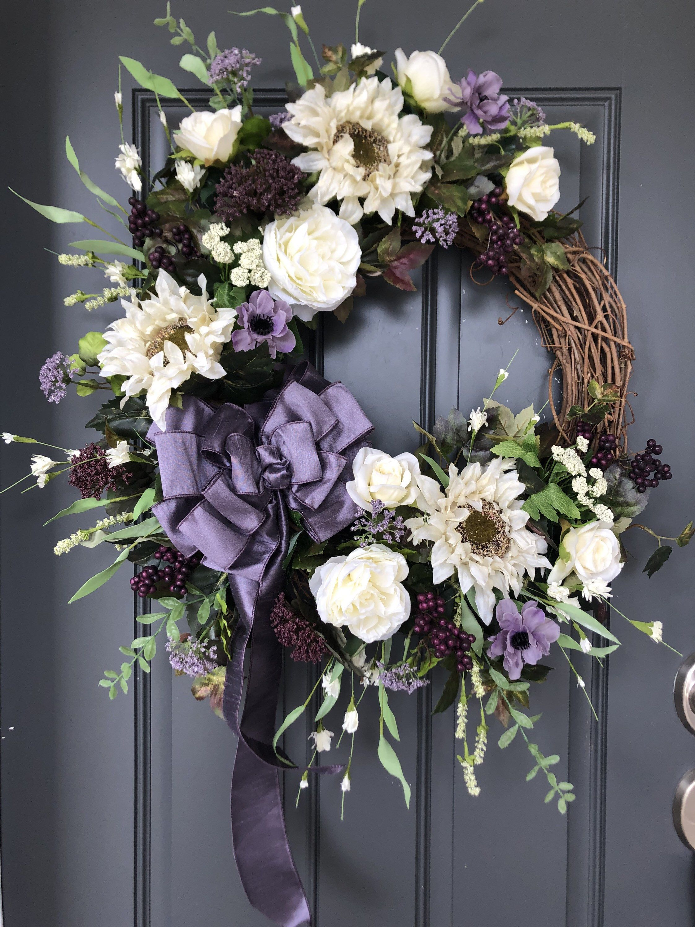 180 Wreaths And Swags Ideas Wreaths Spring Wreath Door Decorations