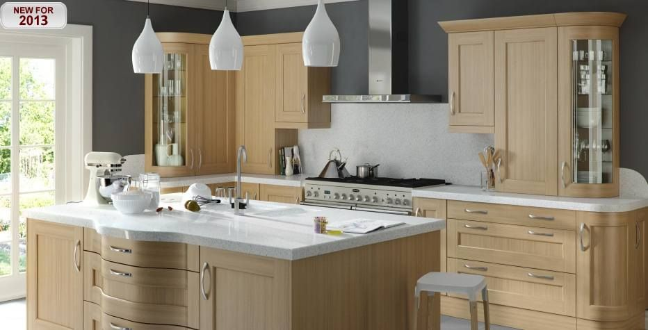 Quercus Oak Lacquer | Timeless Kitchens | Our Kitchens | Evolution Kitchens