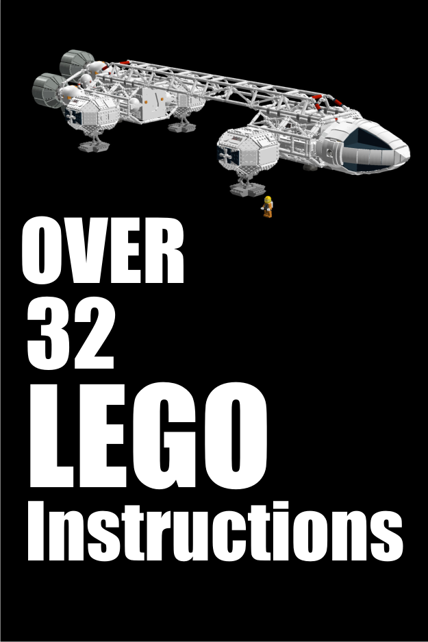 Over 32 Lego Instructions In Pdf Form Star Wars And Space Vehicles