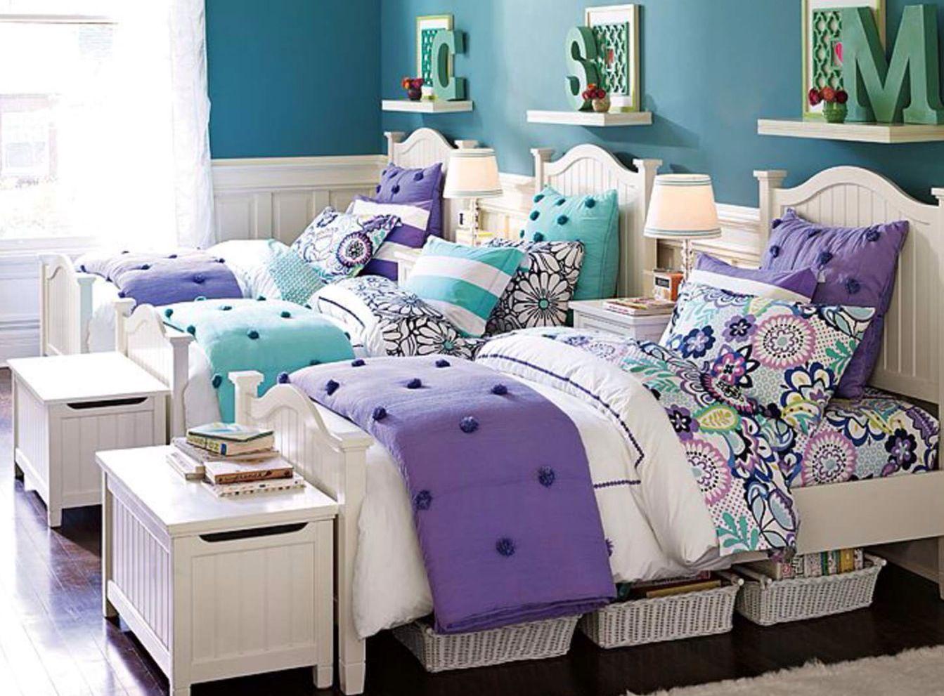 Beadboard Small Desk | Shared bedroom, Girls bedroom ...