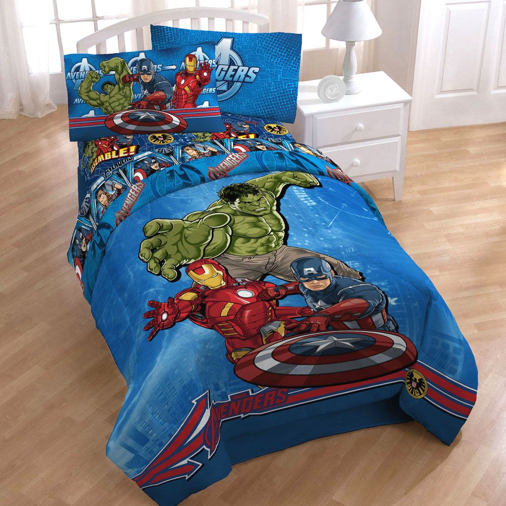 Avengers Bedding For Boys Bedroom Avengers Bedding Set Bedroom Inspiration Bettwäsche Kinder Zimmer Design
