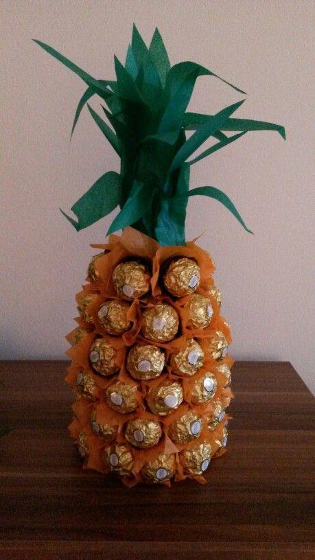 fererro roche ananas geschenke pinterest geschenke deko basteln und basteln. Black Bedroom Furniture Sets. Home Design Ideas