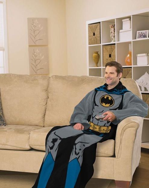 batman snuggie!!! Christmas present for you know who!