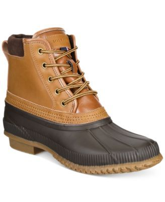 Tommy Hilfiger Mens Casey Waterproof Duck Boots Created For Macys