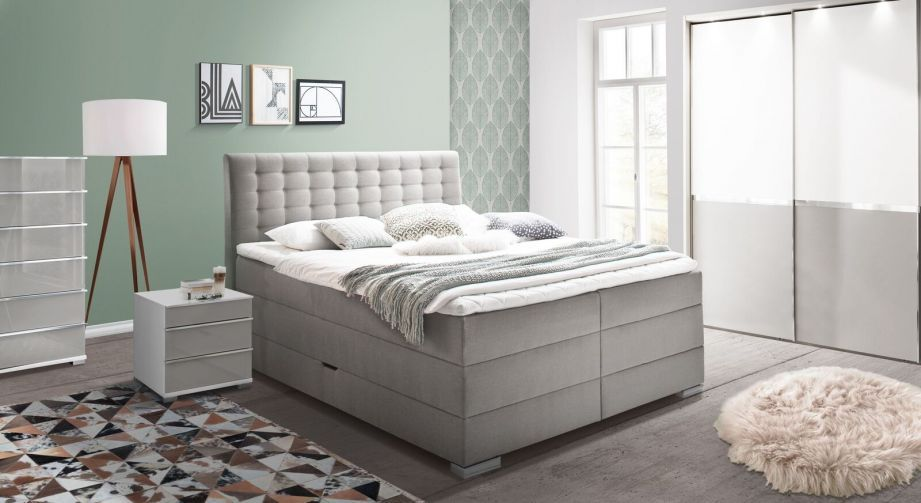 Bettkasten Boxspringbett Viviana In 2020 Boxspringbett