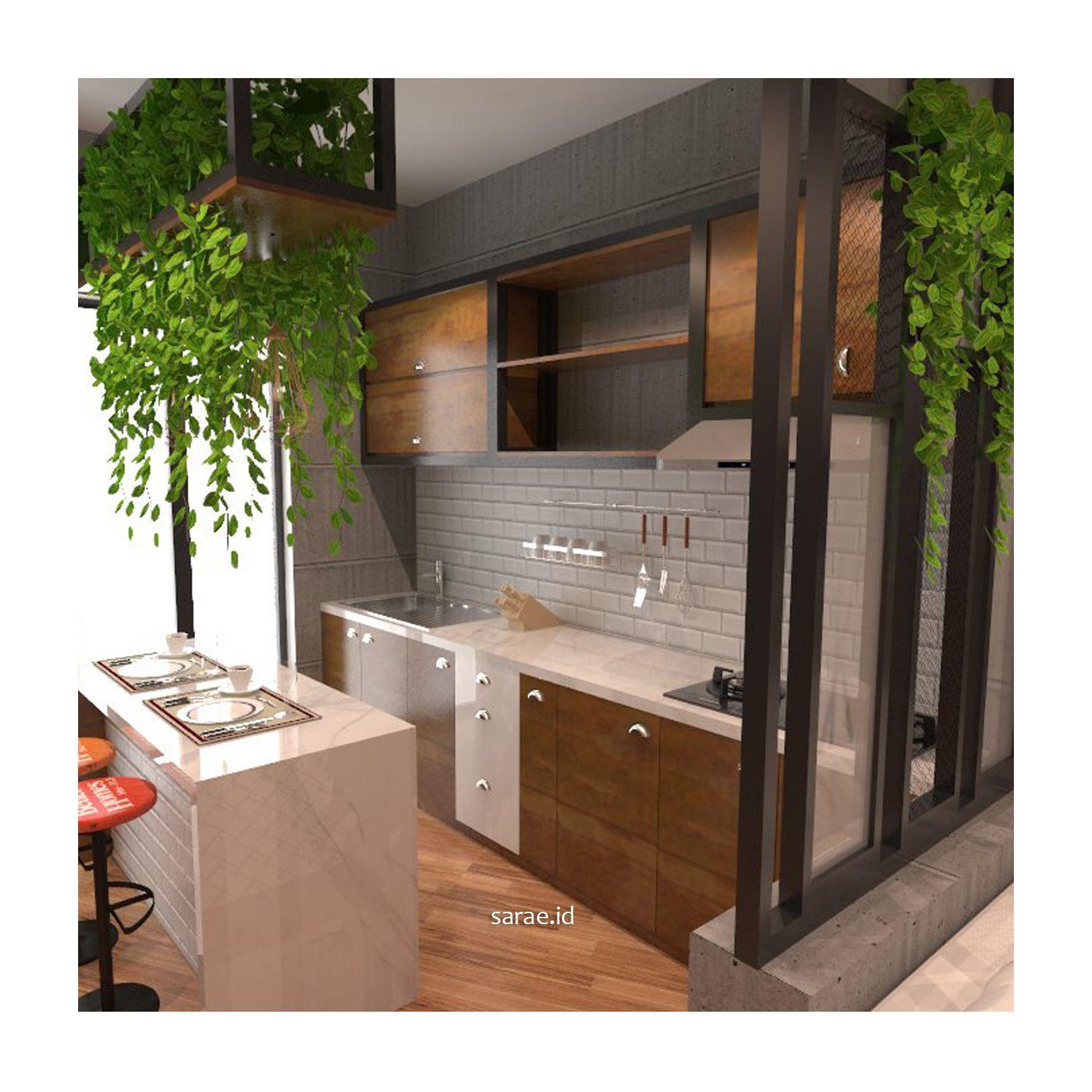 Industrial Kitchen Set Dekorasi Rumah Desain Dapur