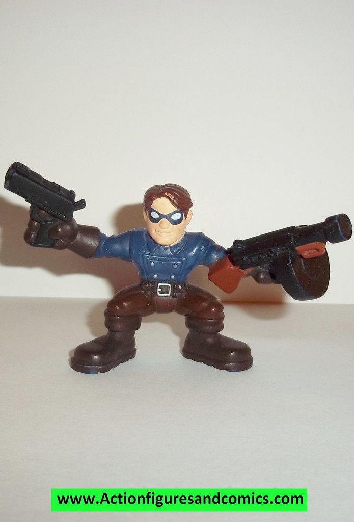Marvel Super Hero Squad BUCKY BARNES complete captain america first avenger movie pvc action figures