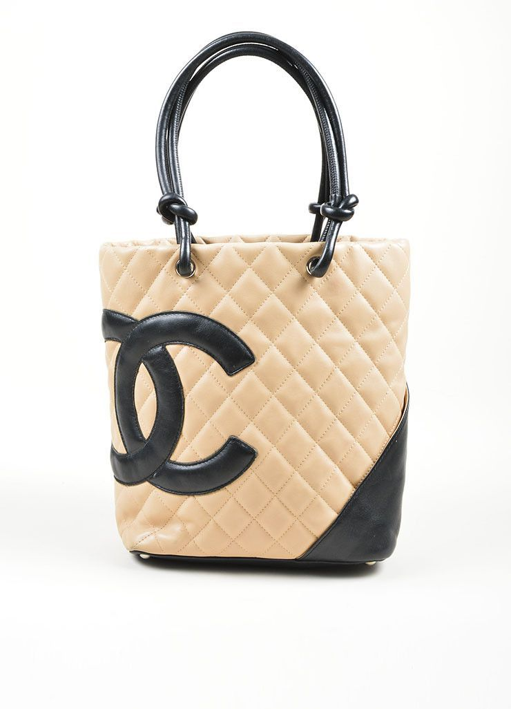 0045e89996206 Beige and Black Chanel