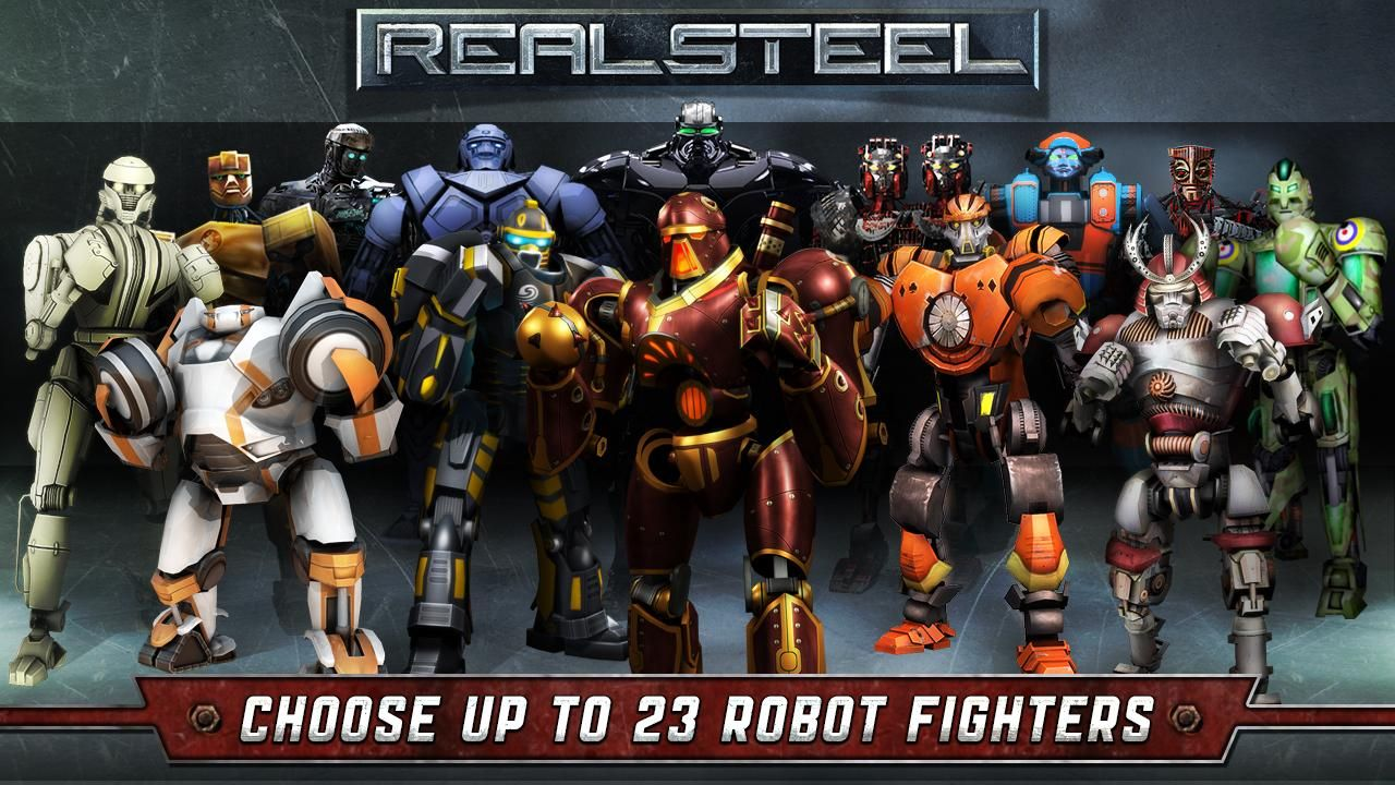 Real Steel 1.4.9 MOD APK Real steel, Free games, Mobile game