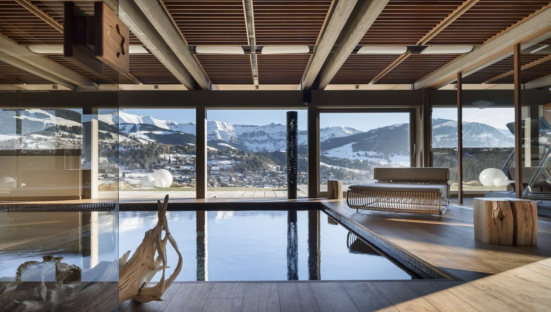 Megeve Luxury Ski Chalets And Resort Information   White Blancmange