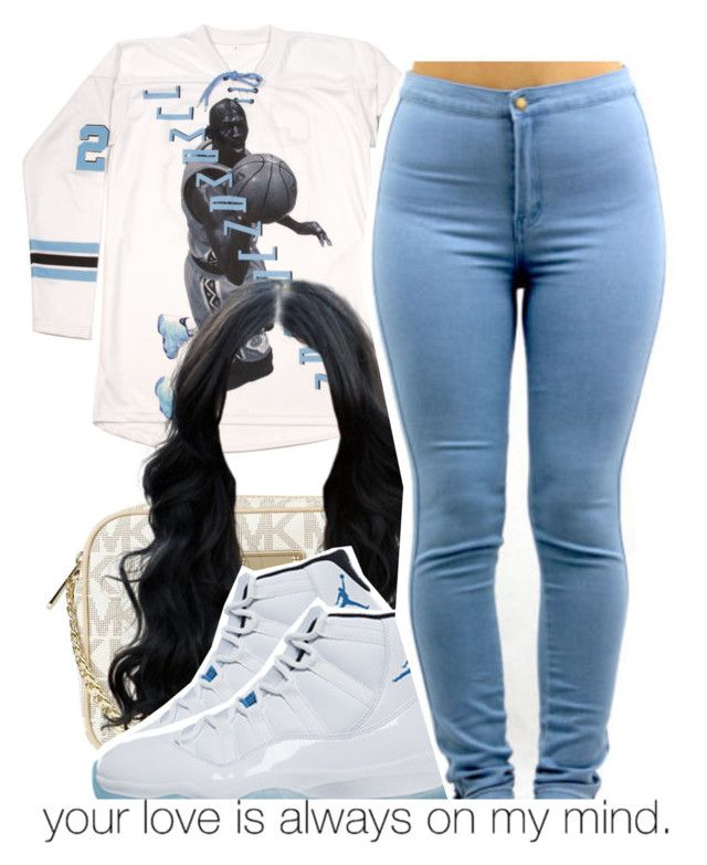 """""""First day of school outfit pt. 3"""" by yungd ❤ liked on Polyvore featuring Michael Kors and Retrò"""