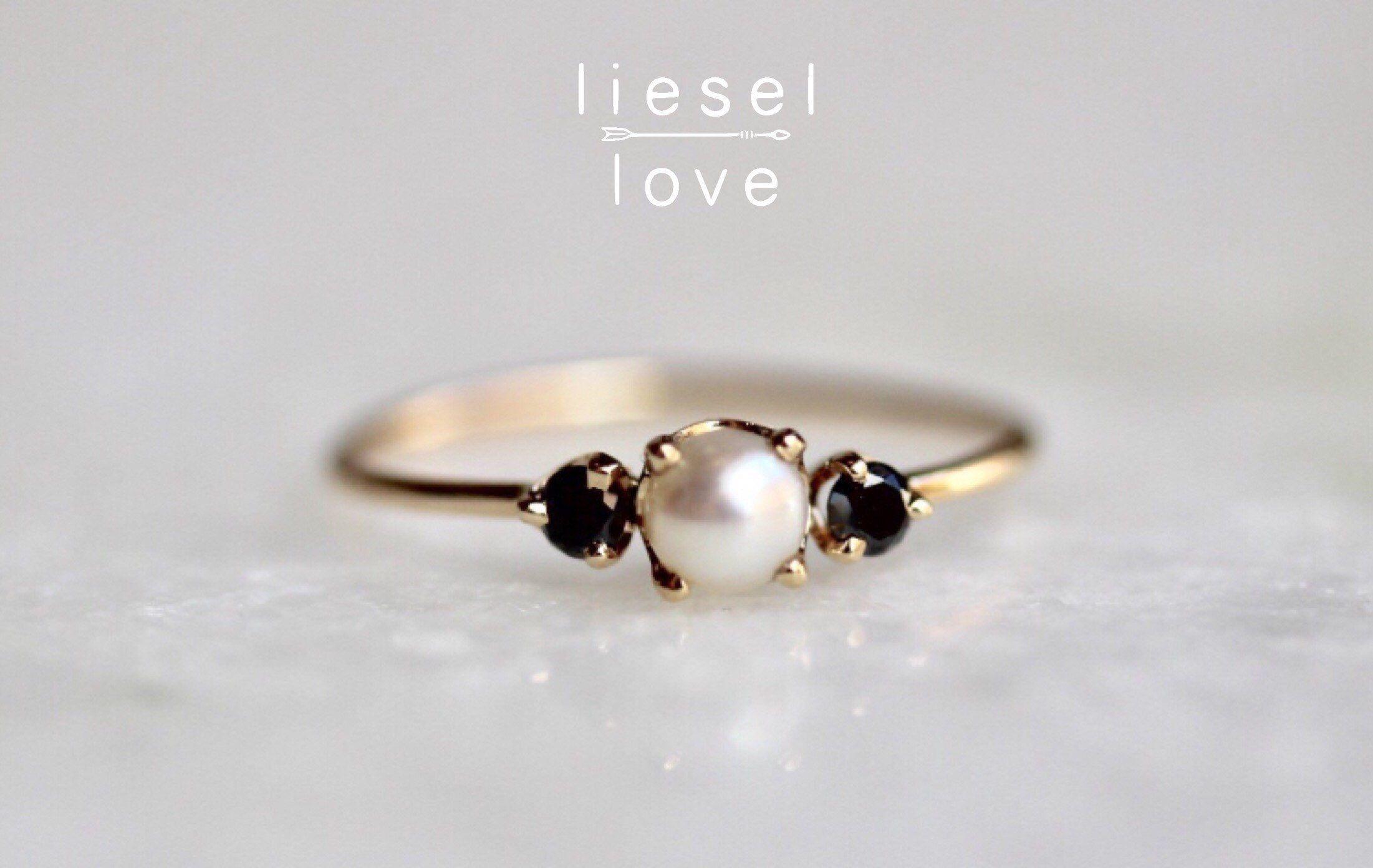 Pearl Engagement Ring Symbolism