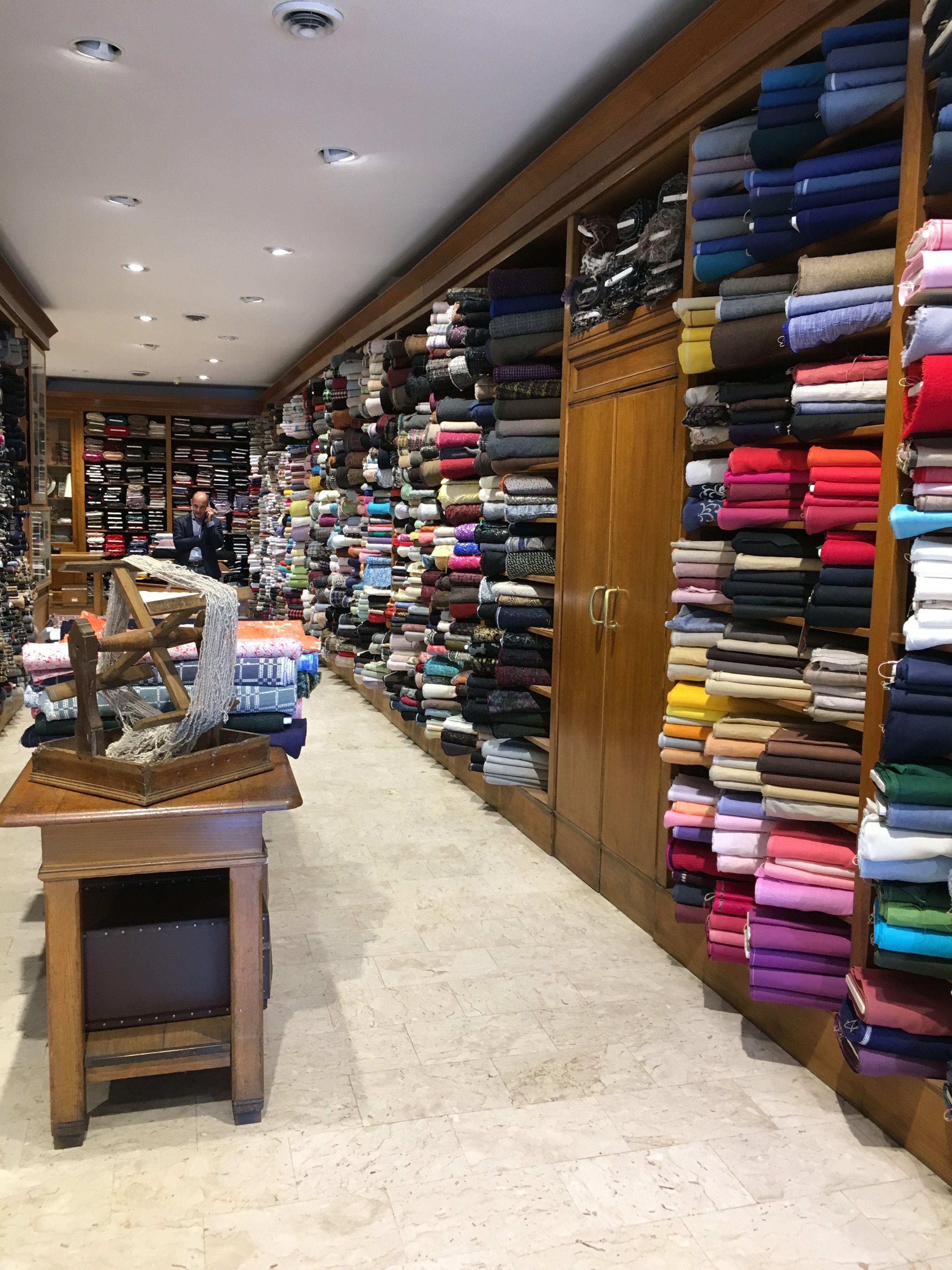 Casa Dei Tessuti Florence Italy Designer Fabric Shop Visited May