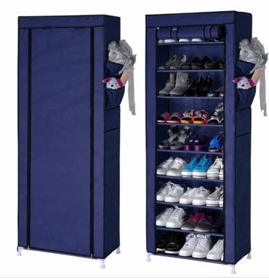 Portable Shoe Rack Shelf Storage Closet Organizer Cabinet Portable 10 Layer 9 Grid Shoe Rack Furniture Shoe Storage Shoe Rack