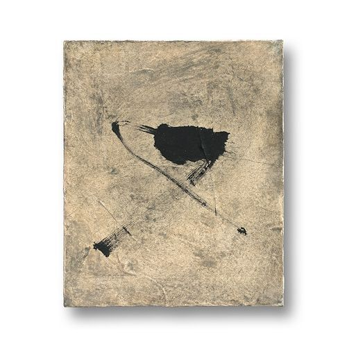 fabionardini:  YAMANOBE, Hideaki Klangassoziationen Szene F-4/4 Acryl und Öl auf Textil Signiert: H. Yamanobe 1999 28,5 x 23,5 x 4,5 cm  (via pin de Stephen Thomas)