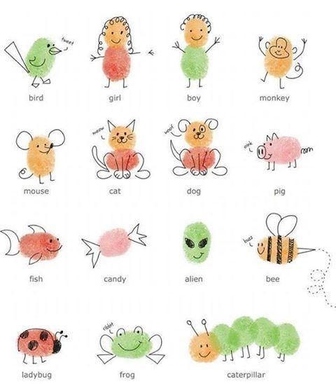 finger print for children