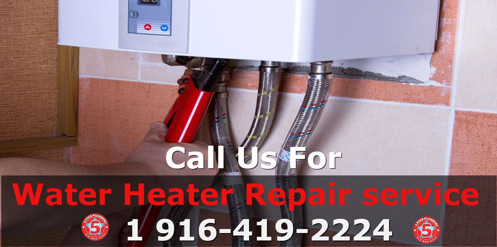Your water heater is dead when the tank leaks. The