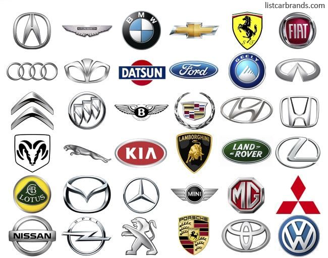 Car Brands Car Brand Pinterest Car Brands Car Symbols And Cars