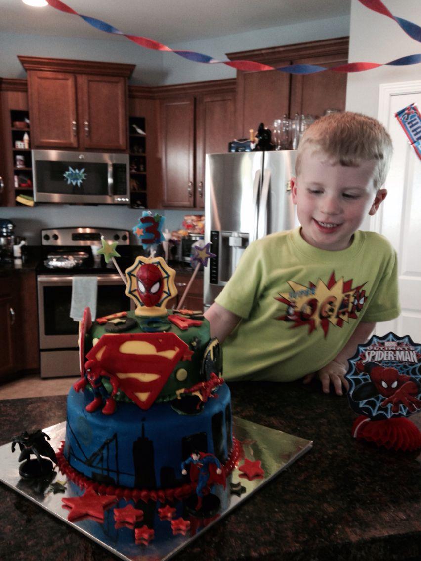 Super Logan's cake!