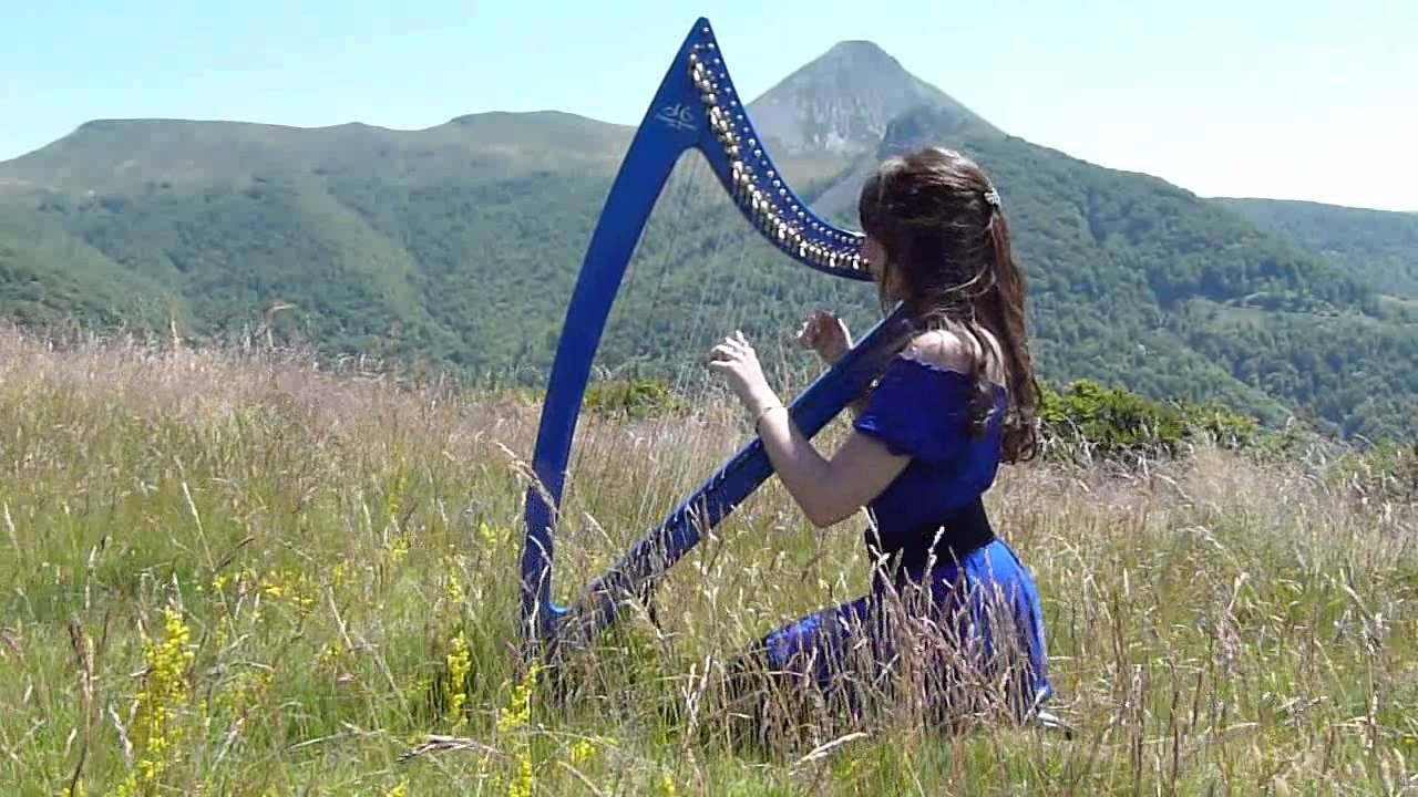 The Hobbit The Lord of the Rings Medley harp harpe