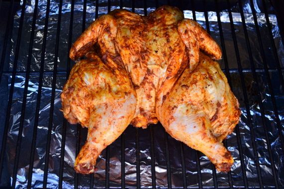 Team Traeger Butterflied Quot Spatchcocked Quot Chile Lime Rubbed Chicken Traeger Recipes
