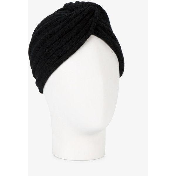 Miu Miu knitted turban hat ( 200) via Polyvore featuring accessories ... 44199b7fbab